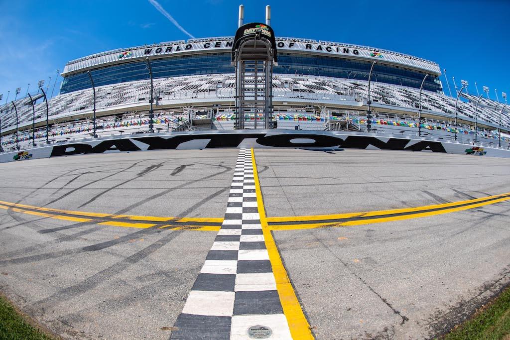 The finish line at Daytona International Speedway. Photo by Align Media, courtesy Pirelli.