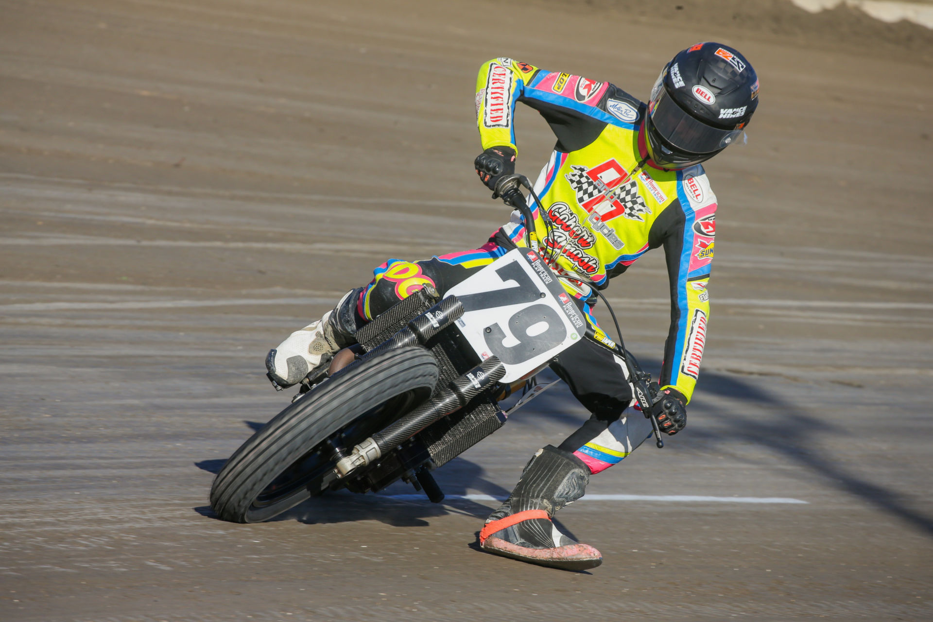 Dalton Gauthier (79), as seen at a Dunlop tire test in December 2020. Photo by Scott Hunter, courtesy AFT.