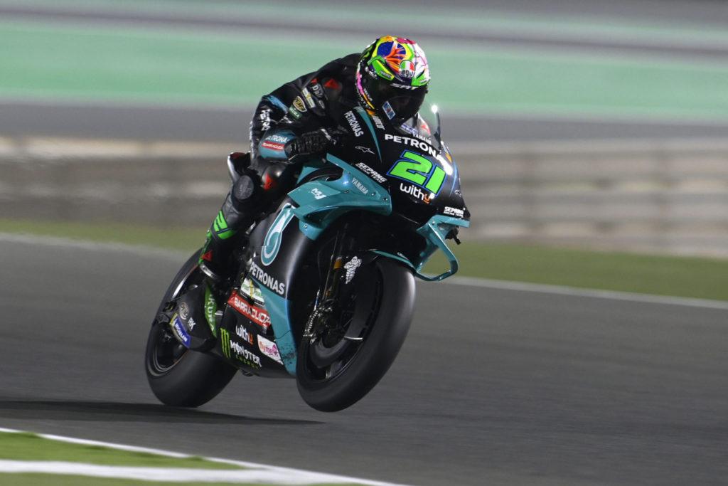 Franco Morbidelli (21). Photo courtesy PETRONAS Yamaha SRT