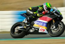 Eric Granado in action at Jerez. Photo courtesy Dorna.