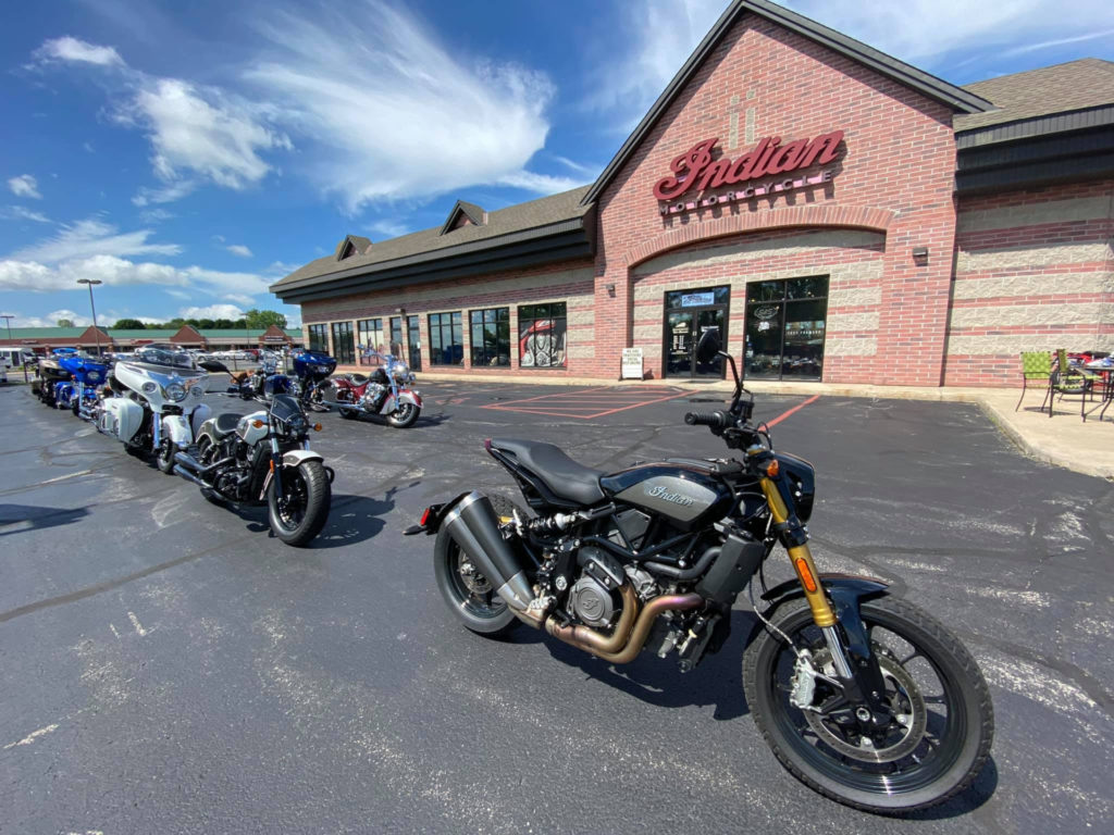 Indian Motorcycle of Metro Milwaukee is ready to build turnkey Bagger racebikes. Photo courtesy Indian Motorcycle of Metro Milwaukee and MotoAmerica.
