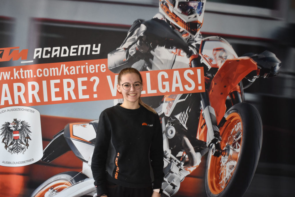Laura Stempfer. Photo courtesy Red Bull MotoGP Rookies Cup.