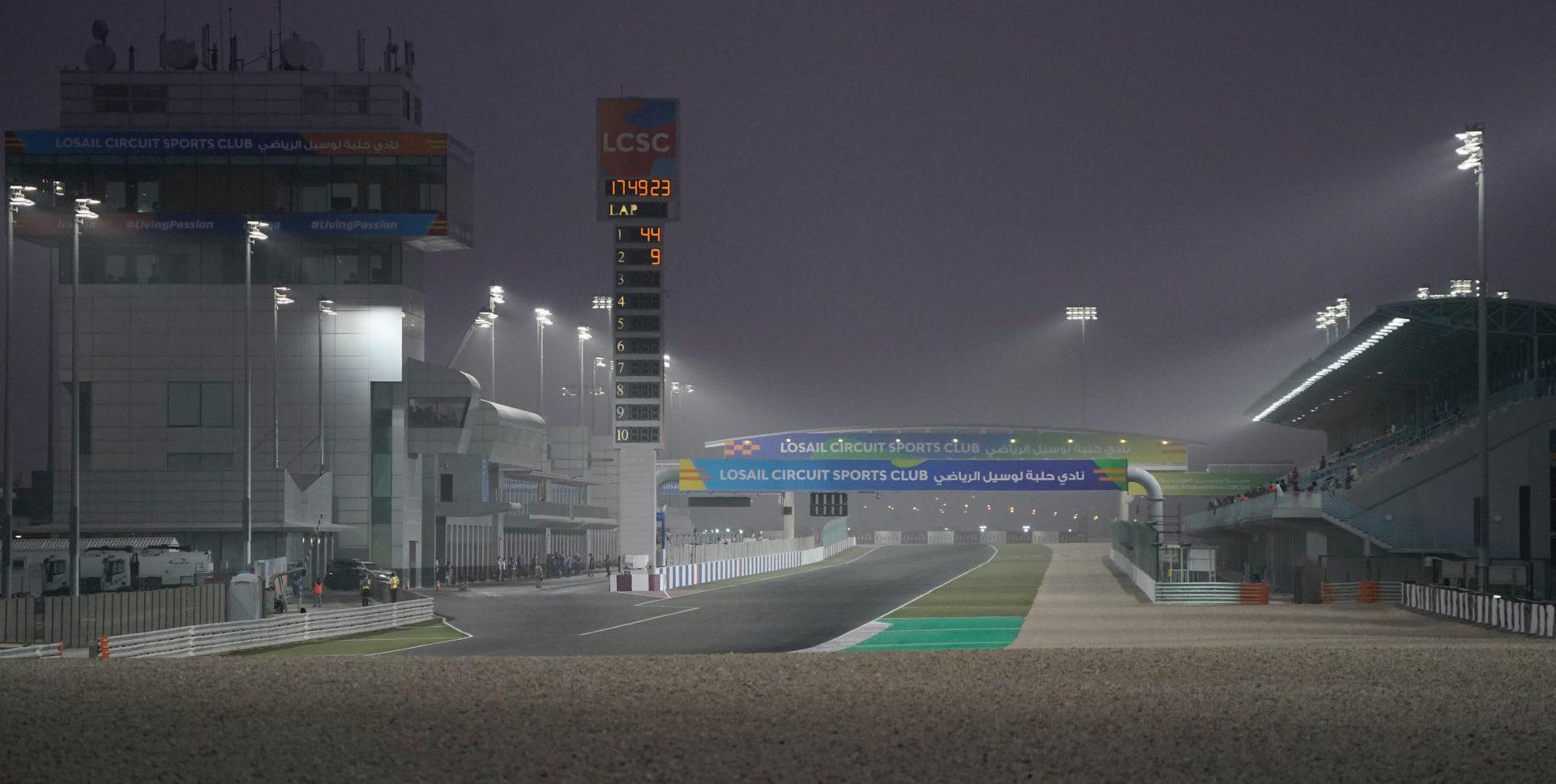 Losail International Circuit. Photo courtesy Team Suzuki ECSTAR.