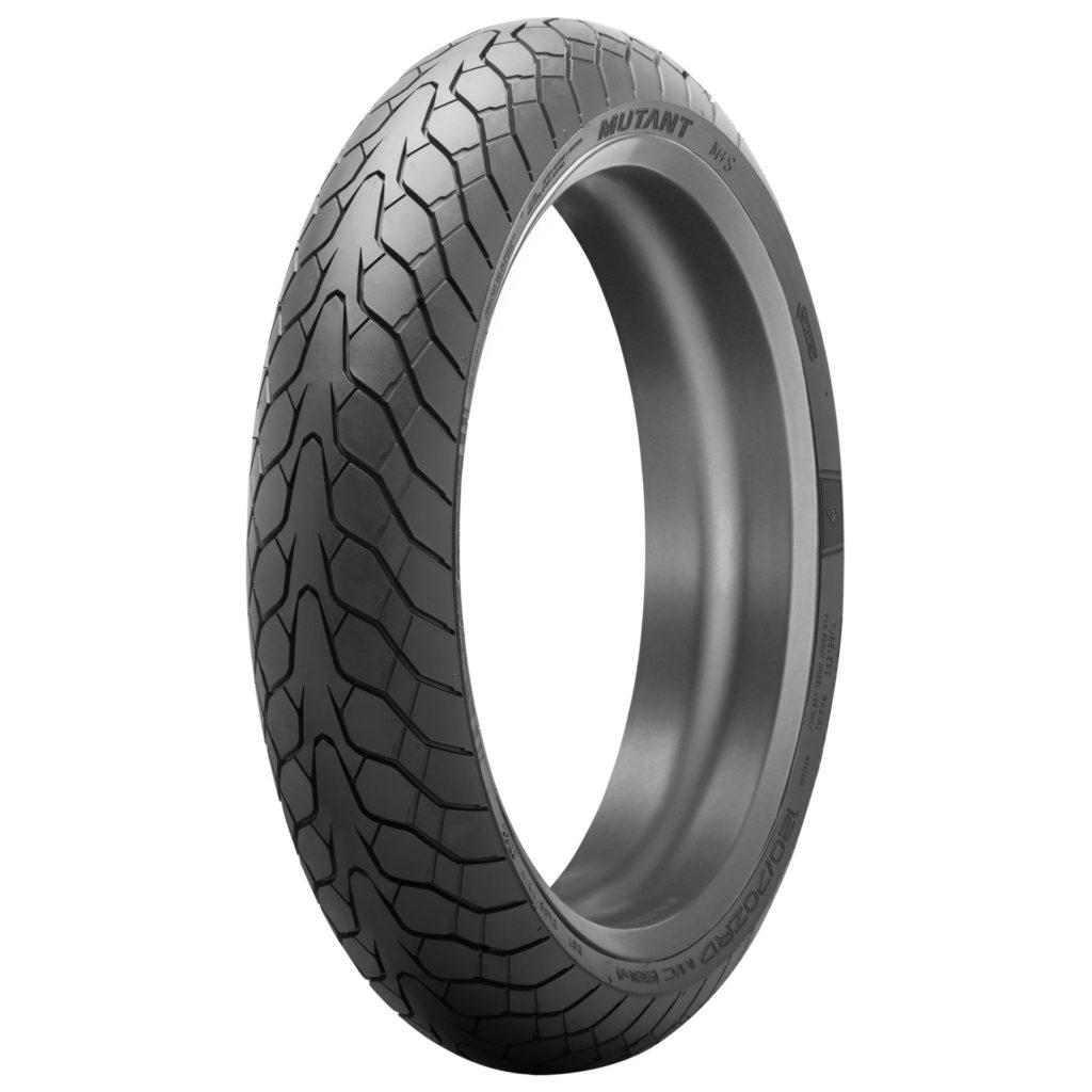 A Dunlop Mutant front tire. Photo courtesy Dunlop.