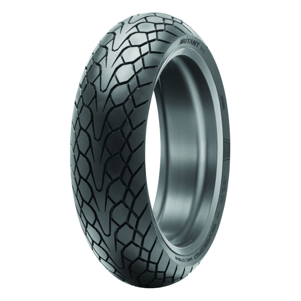 A Dunlop Mutant rear tire. Photo courtesy Dunlop.