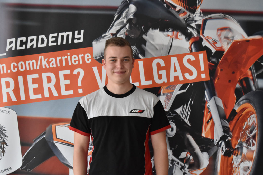Maximilian Götz. Photo courtesy Red Bull MotoGP Rookies Cup.