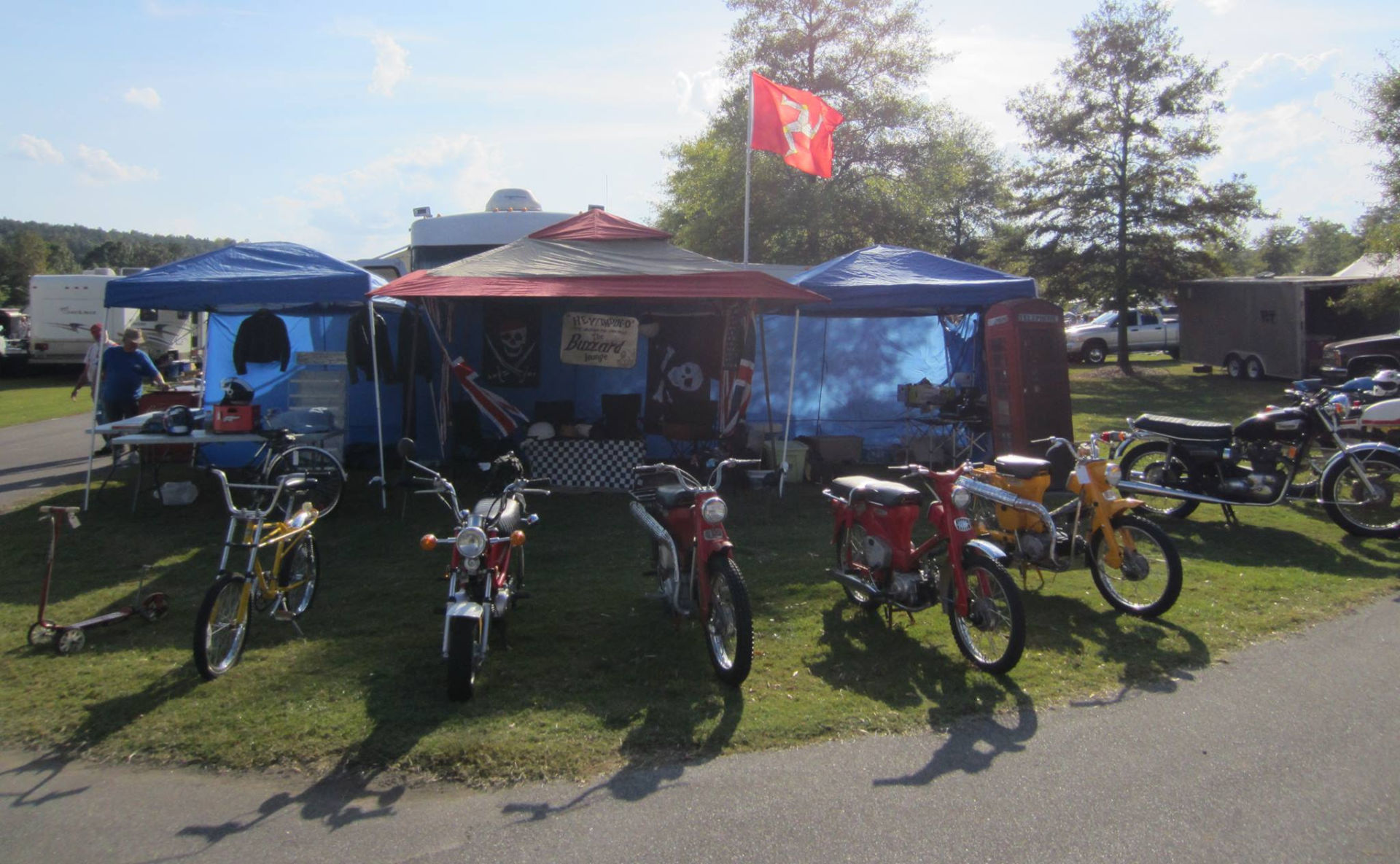 AHRMA is partnering with Laroque Motorsports to bring a Vintage Motorcycle Show & Swap Meet to the Classic Moto Fest at Heartland Motorsports Park. Photo by Maurice Turgeau, courtesy AHRMA.