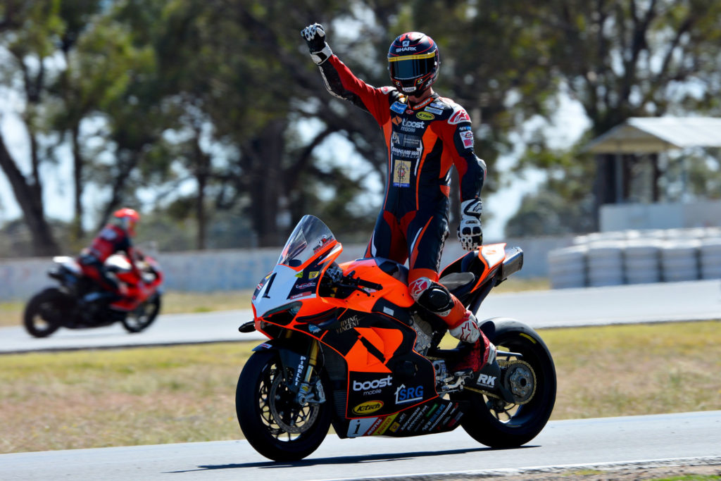 Wayne Maxwell (1). Photo by Russell Colvin, courtesy ASBK.