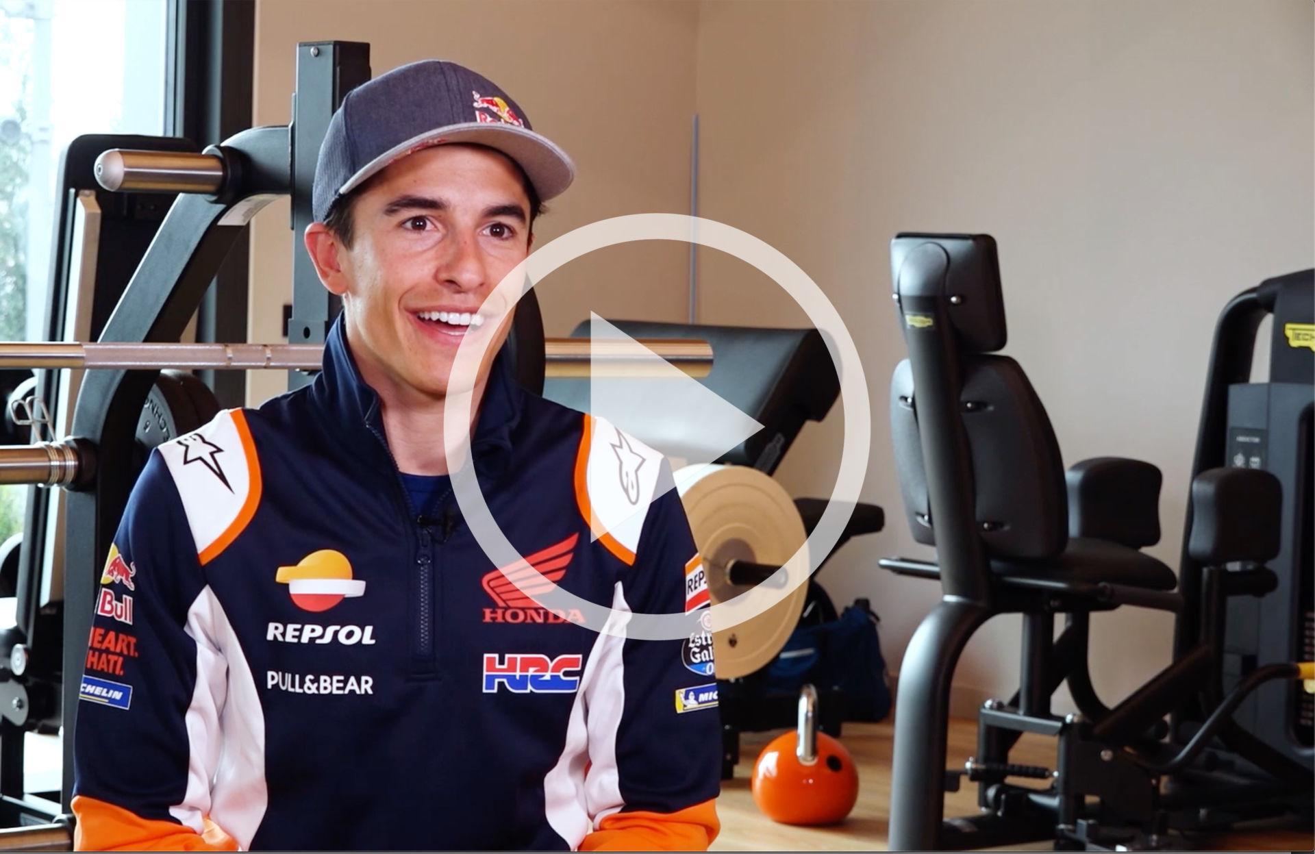 Eight-time World Champion Marc Marquez. Photo courtesy Repsol Honda.