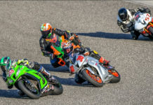 Amateur Superbike action at Calabogie Motorsports Park; in 2021 this class will be sponsored by Motul lubricants for the new Pro 6 GP Series. Photo by Damian Pereria, courtesy PMP.