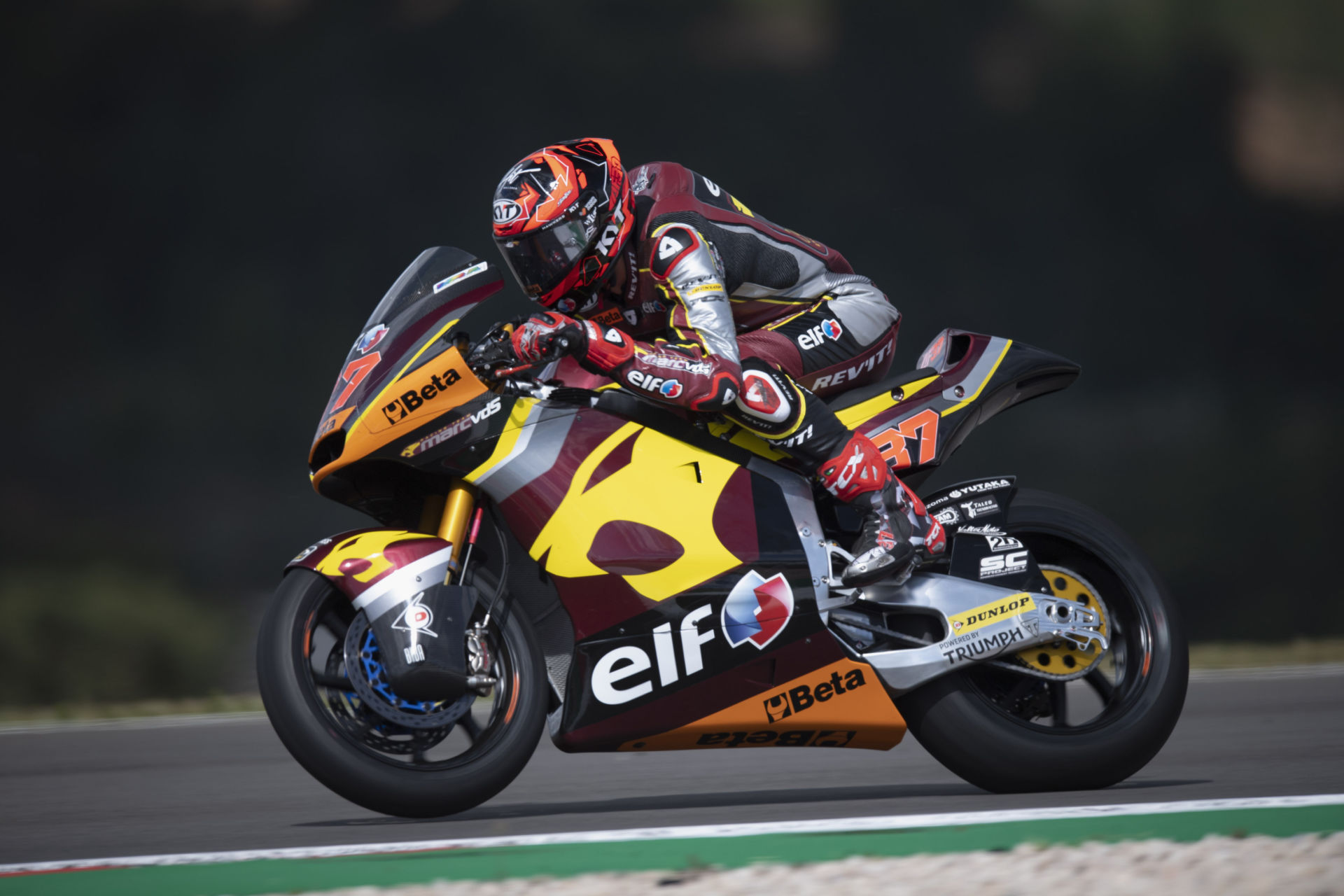 Moto2: Lowes On Pole, Roberts P8, Beaubier P13 At Portimao (Updated)