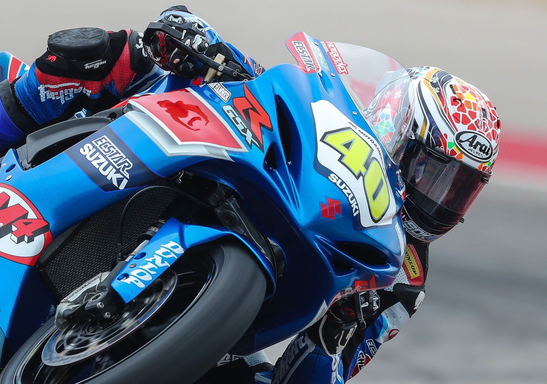 Arai Helmets will be an official partner of the 2021 MotoAmerica Series. Photo by Brian J. Nelson