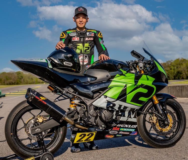Blake Davis. Photo courtesy Blake Davis Racing.