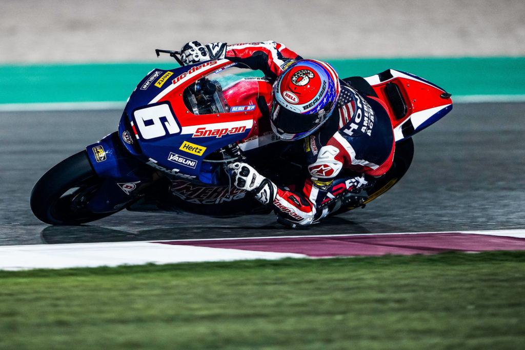 Cameron Beaubier (6). Photo courtesy American Racing Team.