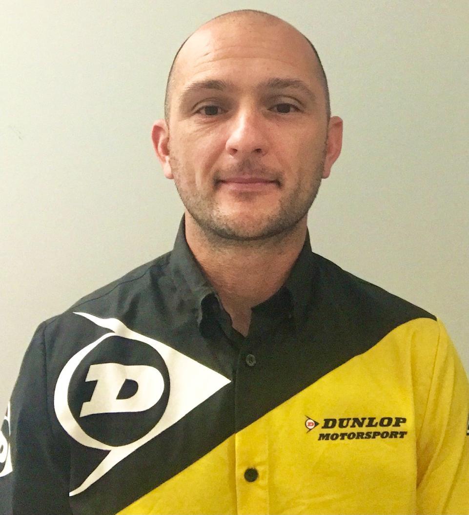 Chris Siebenhaar. Photo courtesy Dunlop.