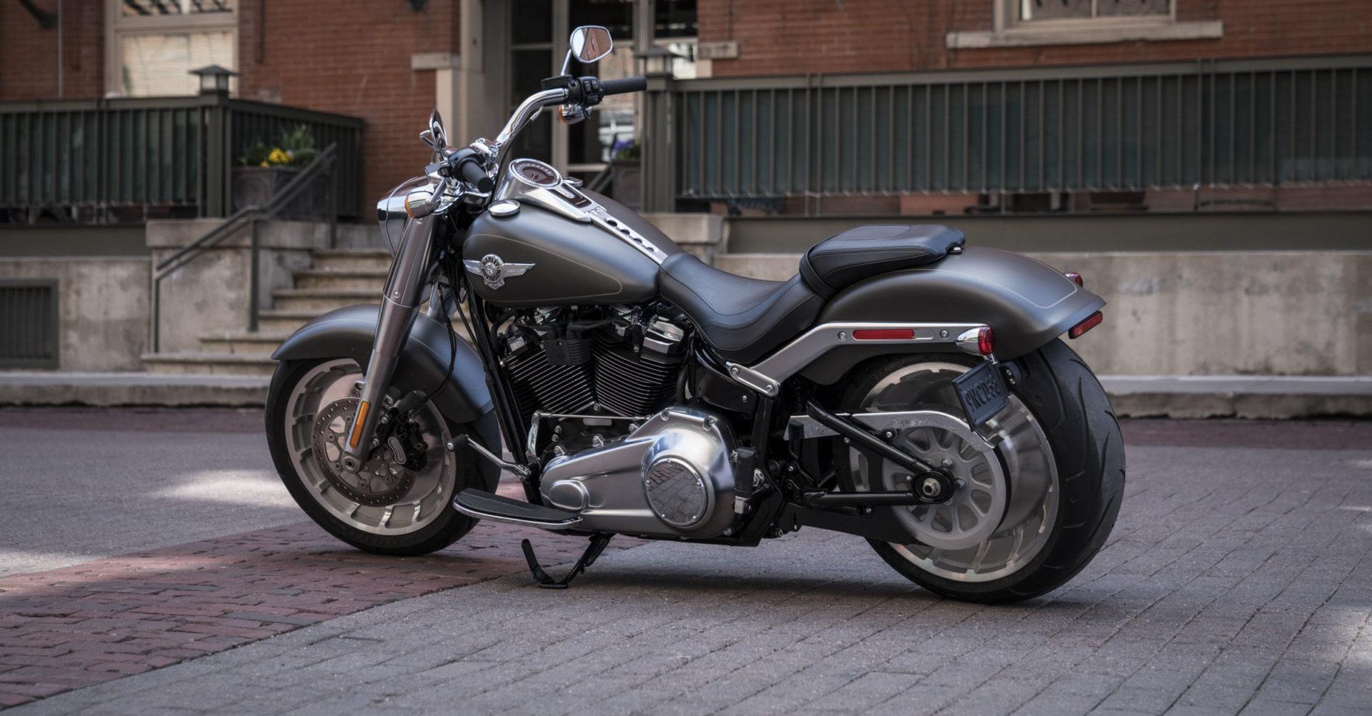A Harley-Davidson Fat Boy. Photo courtesy Harley-Davidson.