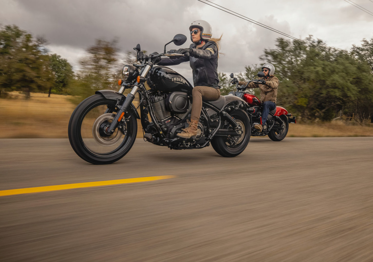 Indian Motorcycle is partnering with International Female Ride Day to empower women to ride. Photo courtesy Indian Motorcycle.