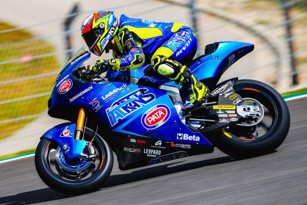 Lorenzo Dalla Porta. Photo courtesy Italtrans Racing Team.