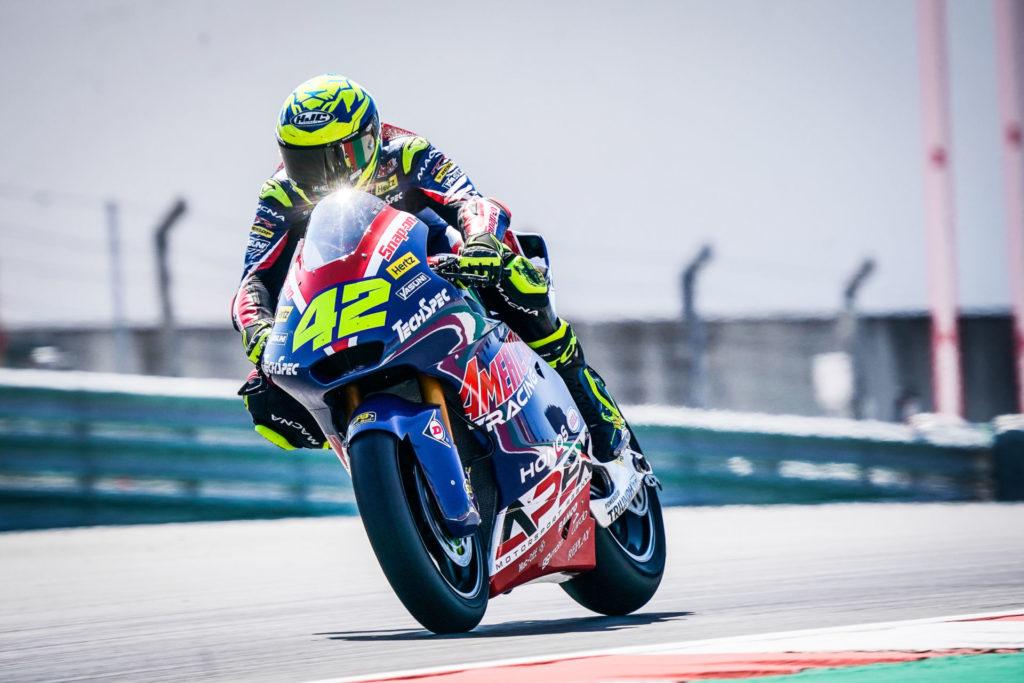 Marcos Ramirez (42). Photo courtesy American Racing Team.
