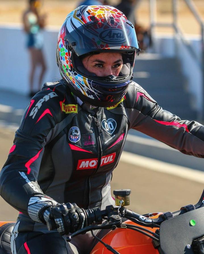 Patricia Fernandez. Photo courtesy Indian Motorcycle.