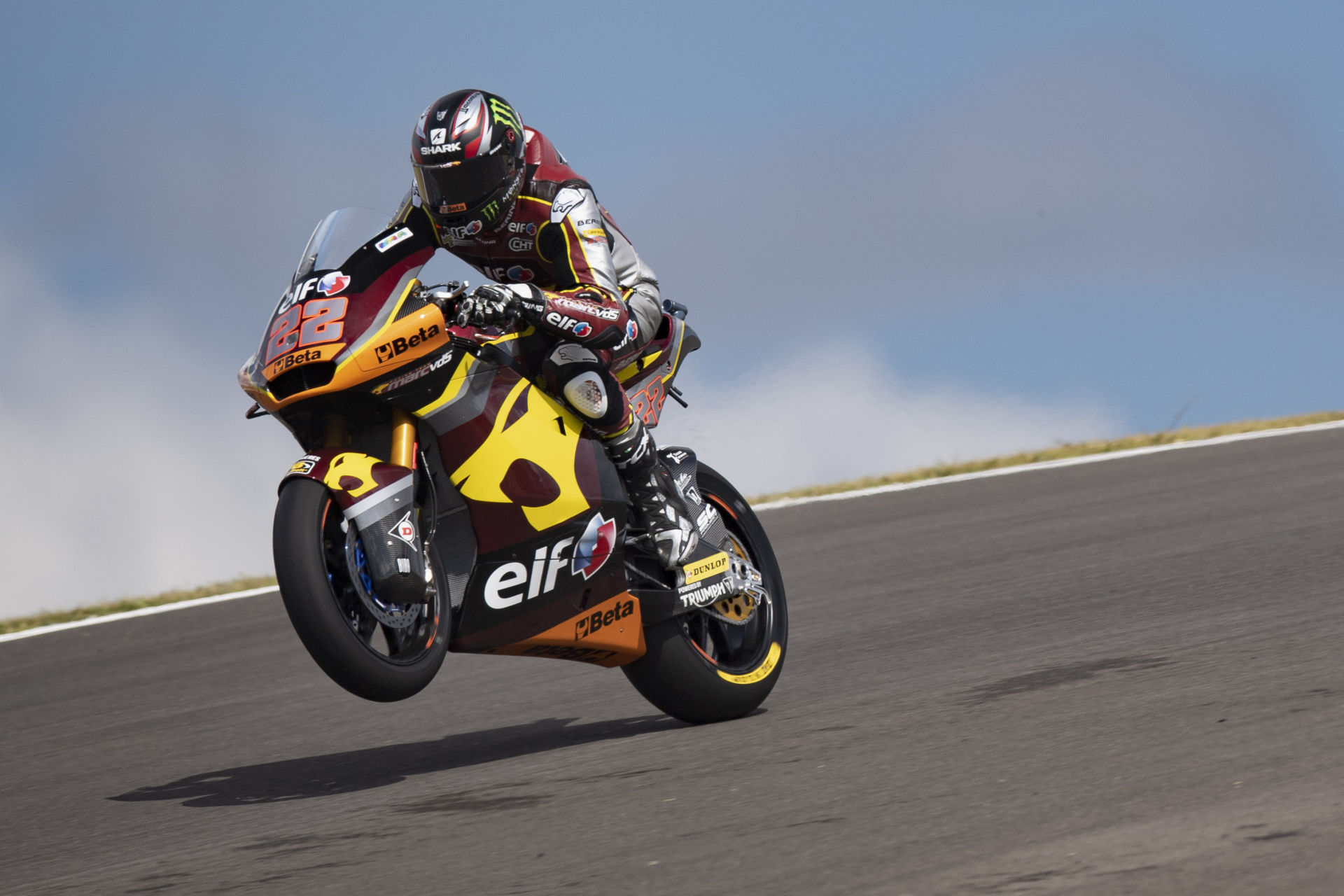 Sam Lowes (22). Photo courtesy Marc VDS Racing Team.