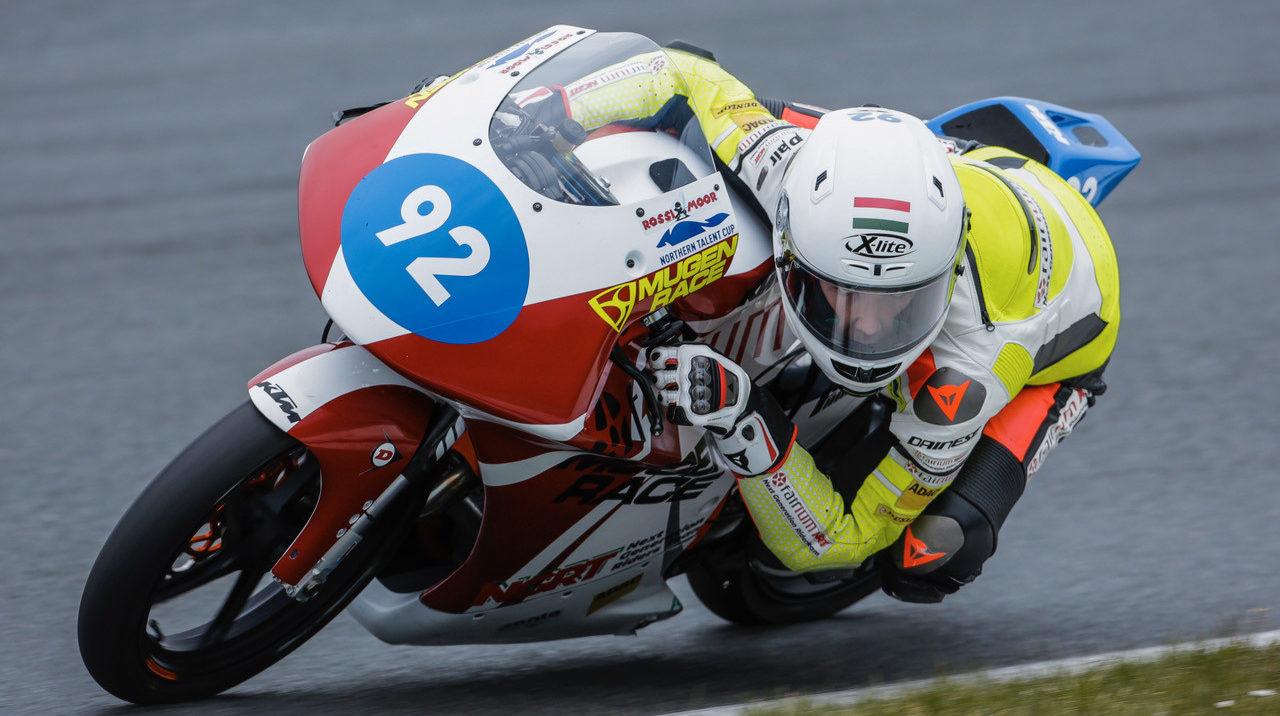 Rossi Moor (92) in action at Oschersleben. Photo courtesy Rossi Moor's publicist.