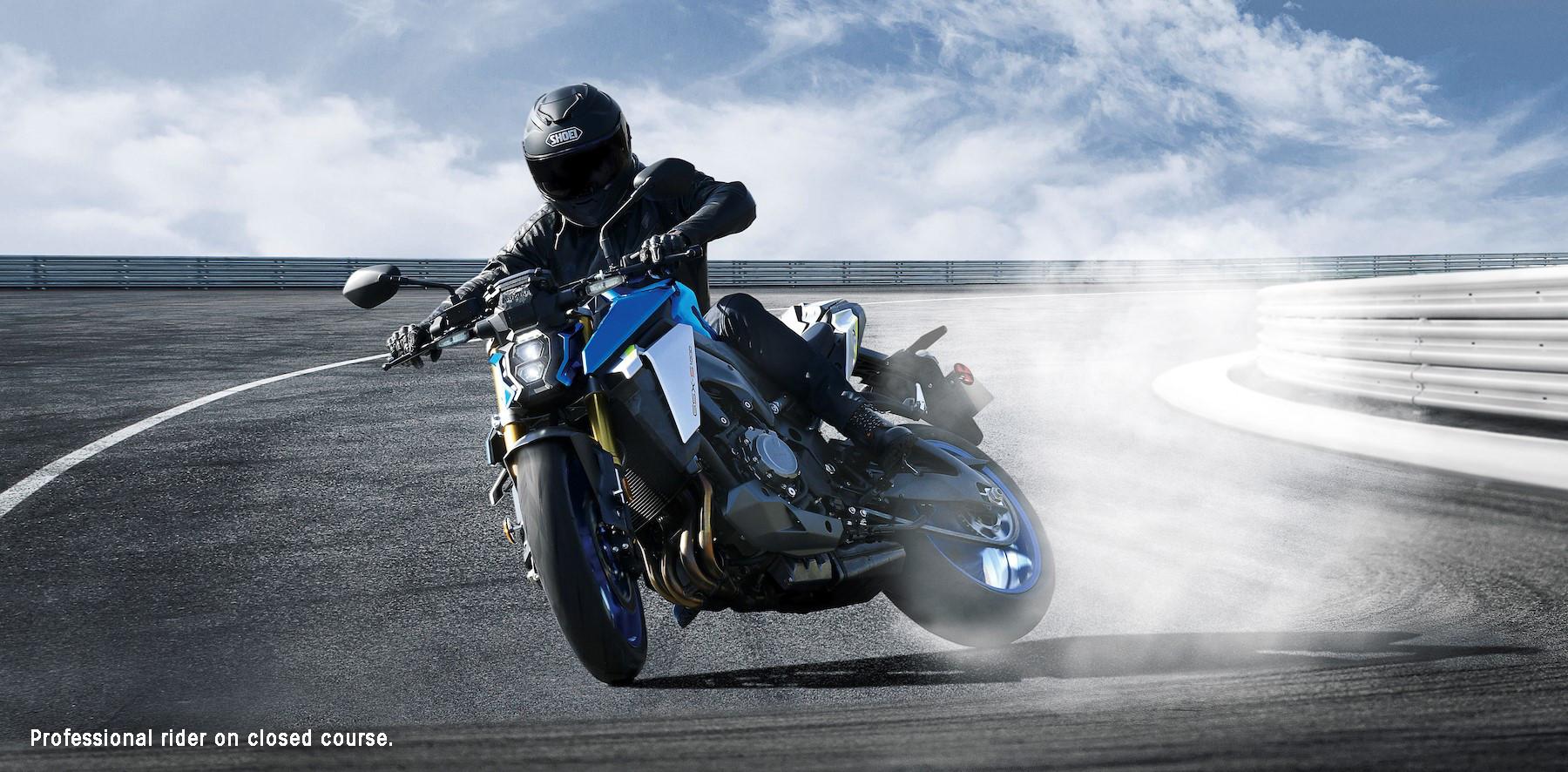 The 2022 Suzuki GSX-S1000 delivers the perfect balance of performance, agility, and style. Photo courtesy Suzuki Motor USA, LLC.