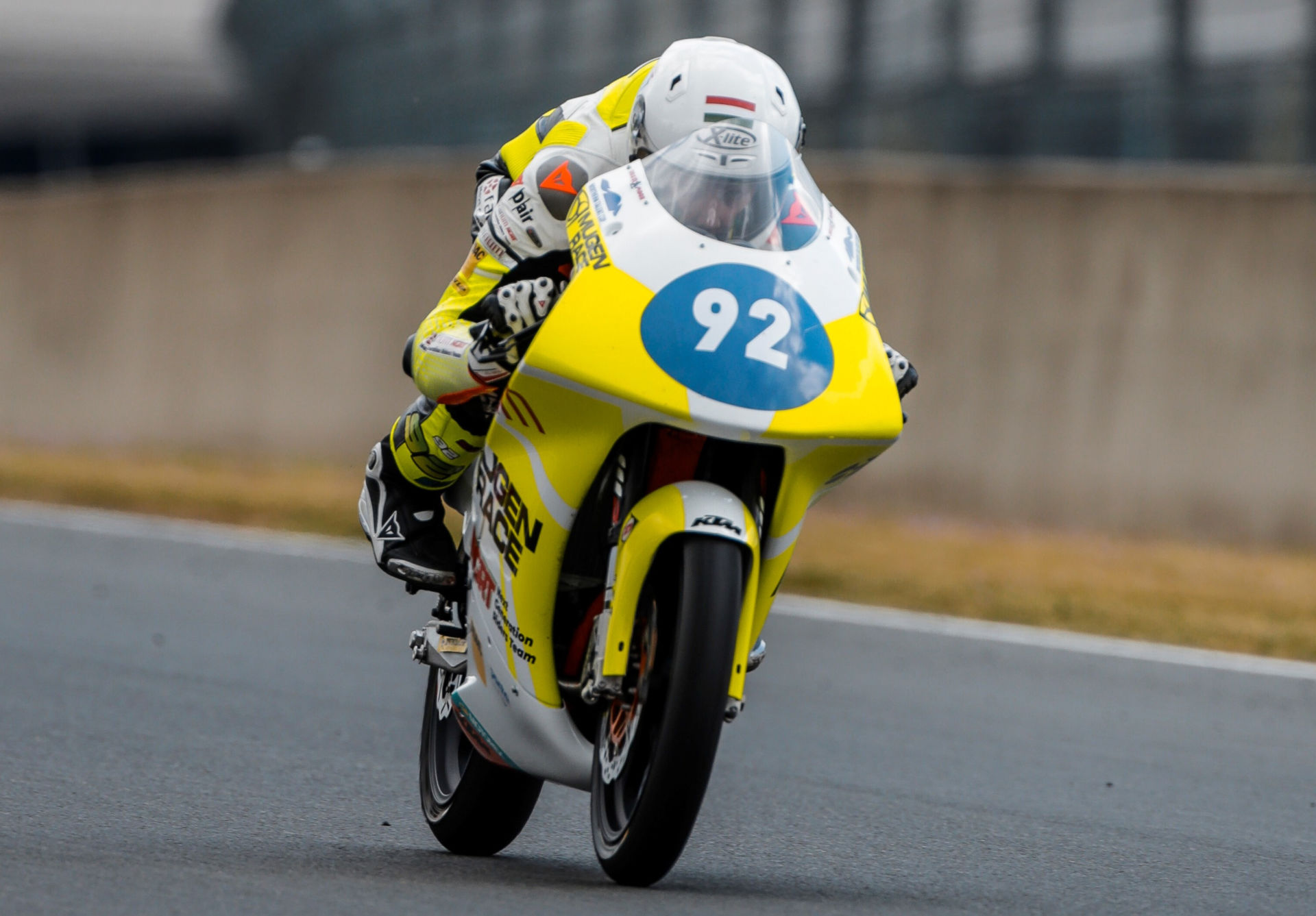 Rossi Moor (92) in action at Le Mans. Photo courtesy Fairum NGRT.