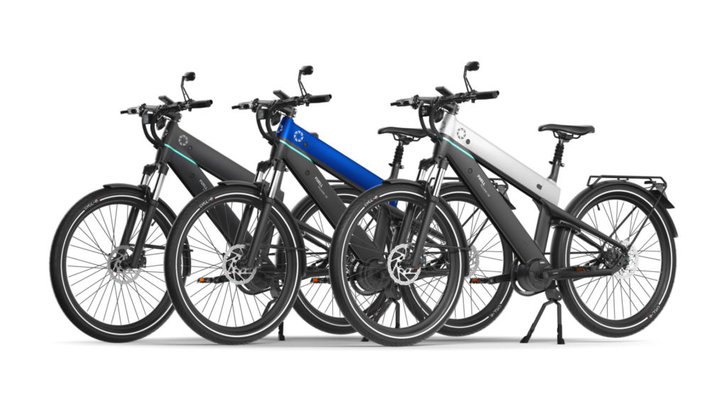 FUELL Flluid-1S electric bicycles. Photo courtesy FUELL.