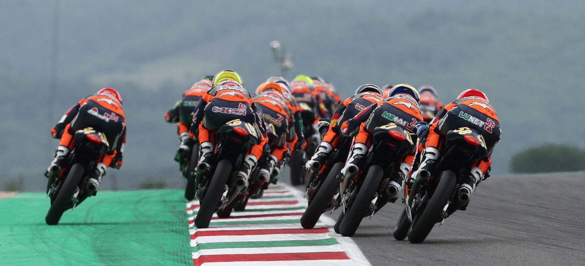 Red Bull MotoGP Rookies Cup Will Be Decided At MotorLand Aragon - RoadracingWorld.com
