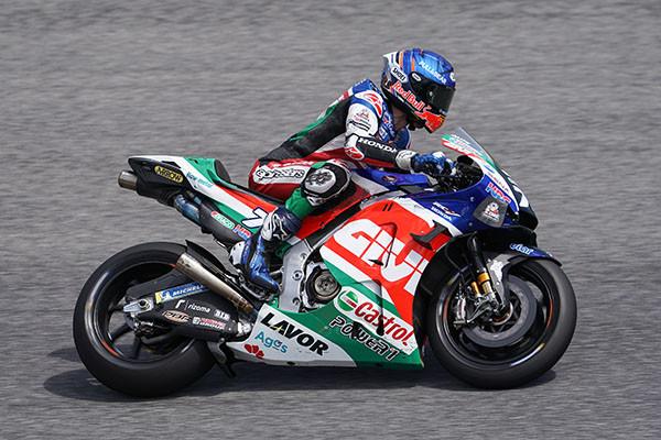 Alex Marquez (73). Photo courtesy LCR Honda.
