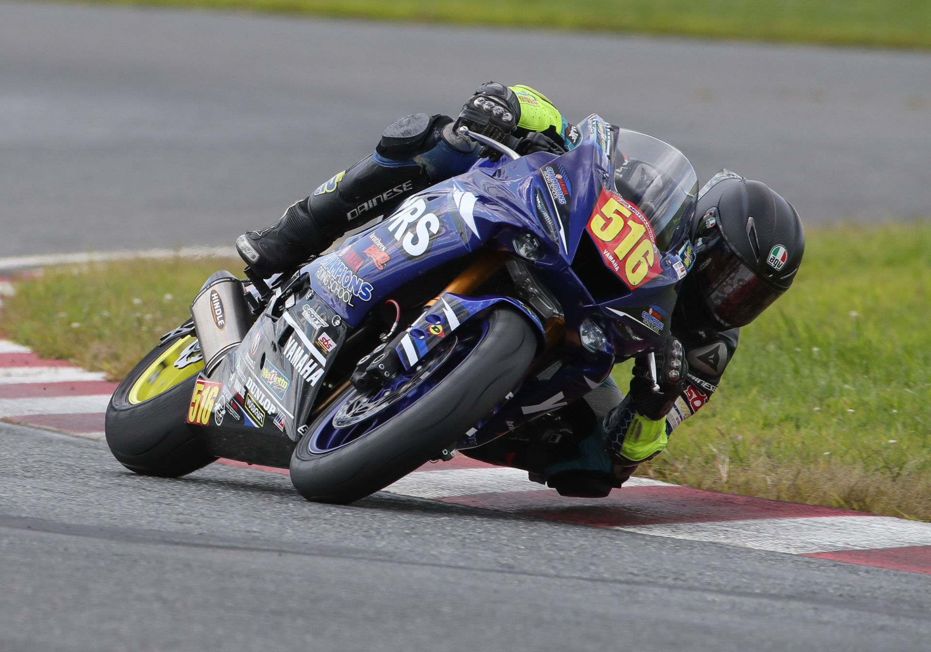 Anthony Mazziotto III (516) in action at NJMP in 2017. Photo by Brian J. Nelson.