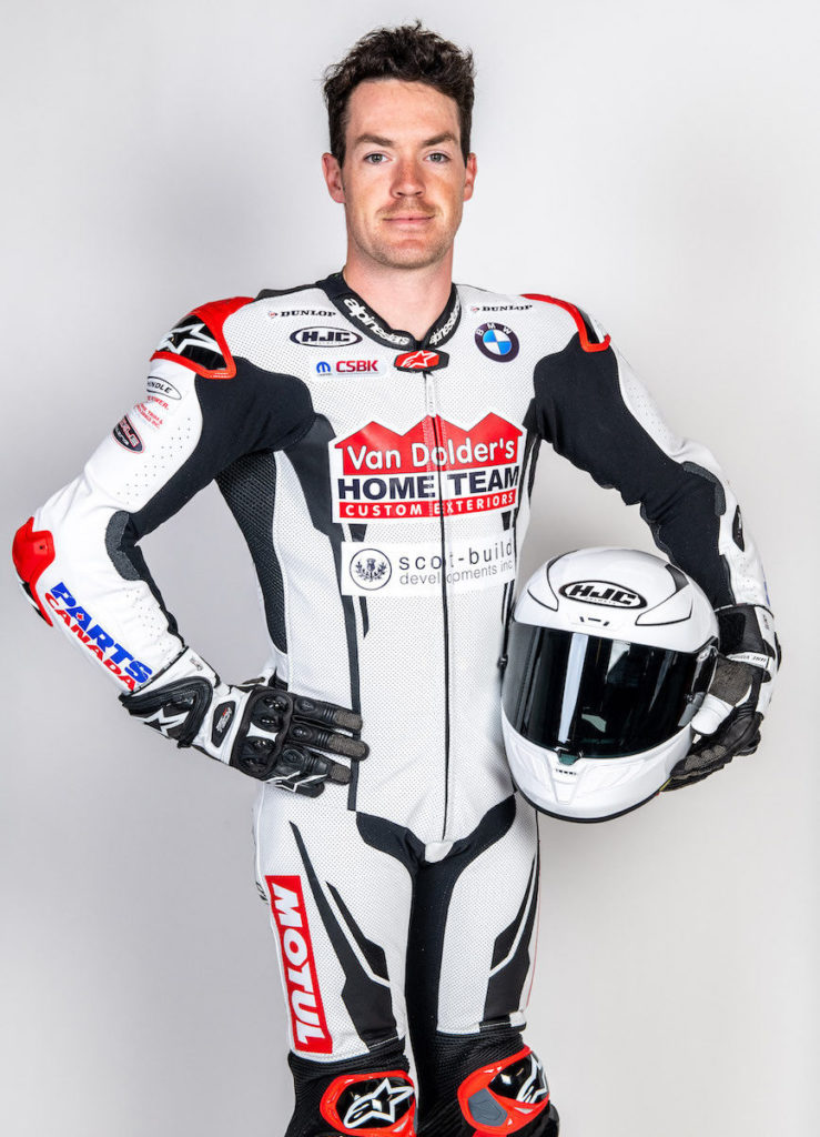 Ben Young in his new 2021 livery. Photo by Tim McGill Photography, courtesy Ben Young Racing.