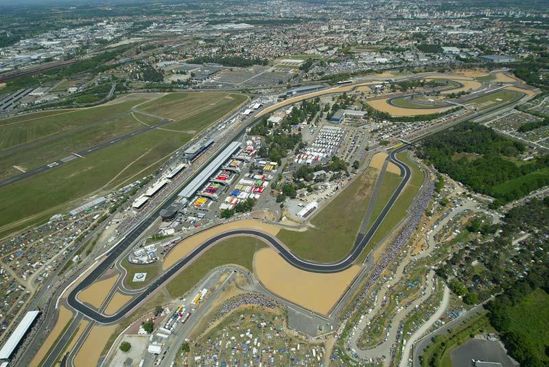 The Bugatti Circuit i Le Mans, France. Photo courtesy Michelin.