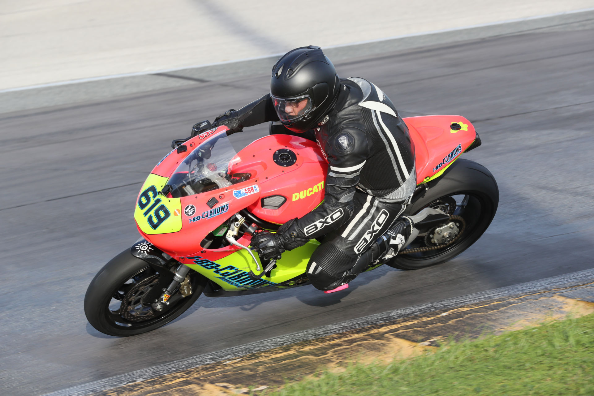CJ Czaia (619) at the CCS Race of Champions at Daytona International Speedway in 2018. Photo by Brian J. Nelson.