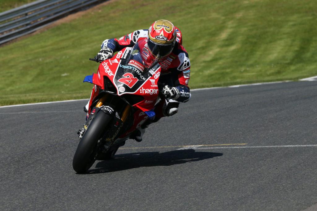 Christian Iddon (21). Photo courtesy VisionTrack Ducati.