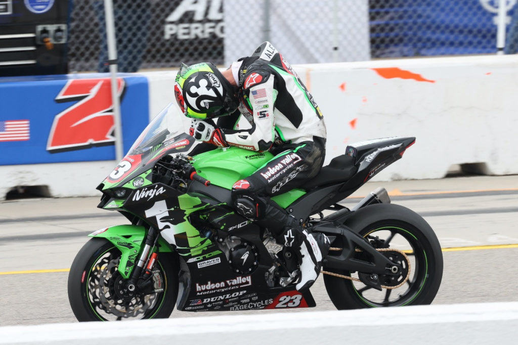 Corey Alexander (23). Photo by Brian J. Nelson, courtesy HONOS HVMC Racing.