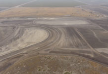 The new course under construction at Buttonwillow Raceway Park. Photo by CaliPhotography, courtesy CRA.