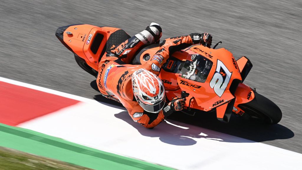 Iker Lecuona (27). Photo courtesy Tech3 KTM Factory Racing.