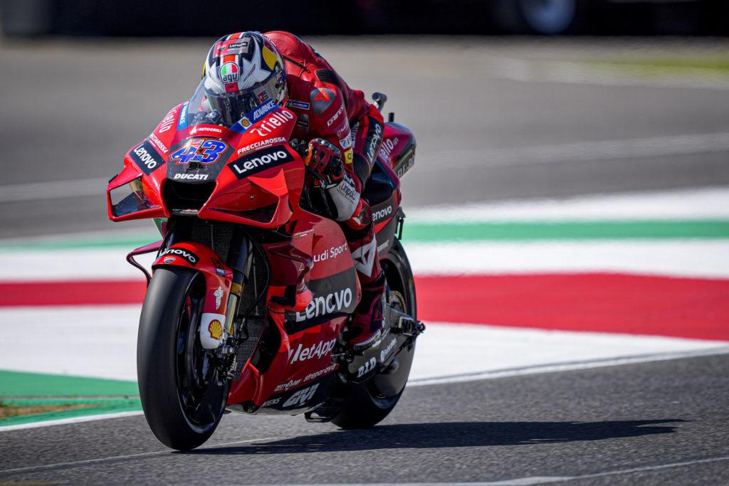 Jack Miller (43). Photo courtesy Ducati.