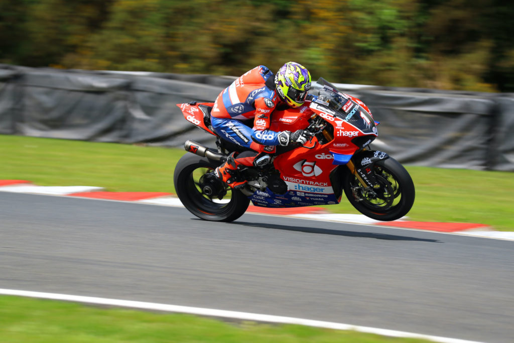 Josh Brookes (1). Photo courtesy VisionTrack Ducati.