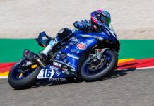 Jules Cluzel (16). Photo courtesy Yamaha.