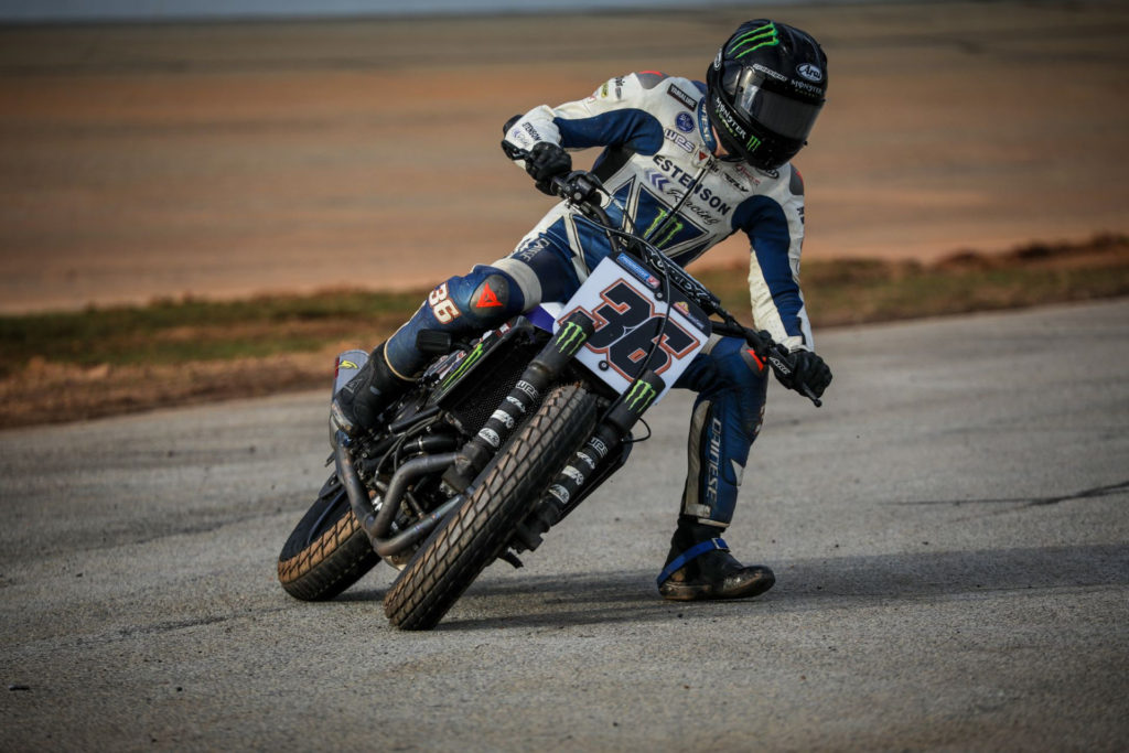Kolby Carlile (36). Photo courtesy Yamaha.