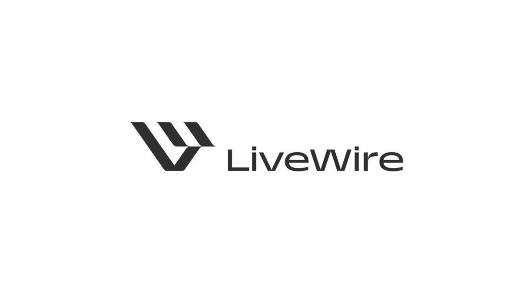 The LiveWire brand logo. Image courtesy Harley-Davidson.