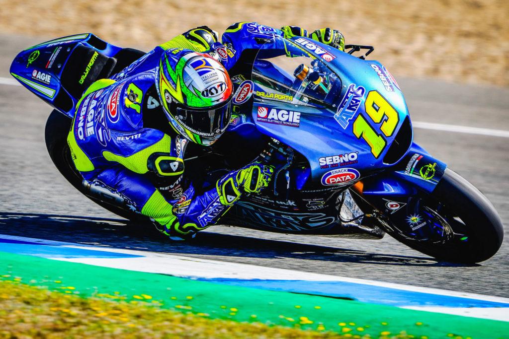 Lorenzo Dalla Porta (19). Photo courtesy Italtrans Racing Team.