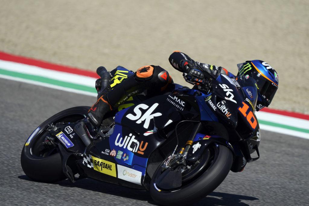 Luca Marini (10). Photo courtesy SKY Racing Team VR46.