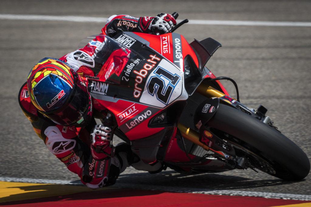Michael Ruben Rinaldi (21). Photo courtesy Ducati.