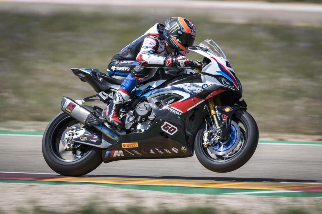 Michael van der Mark (60). Photo courtesy BMW Motorrad Motorsport.