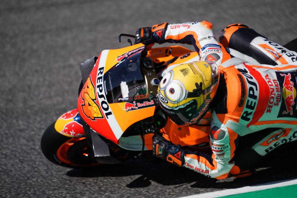 Pol Espargaro (44). Photo courtesy Repsol Honda.