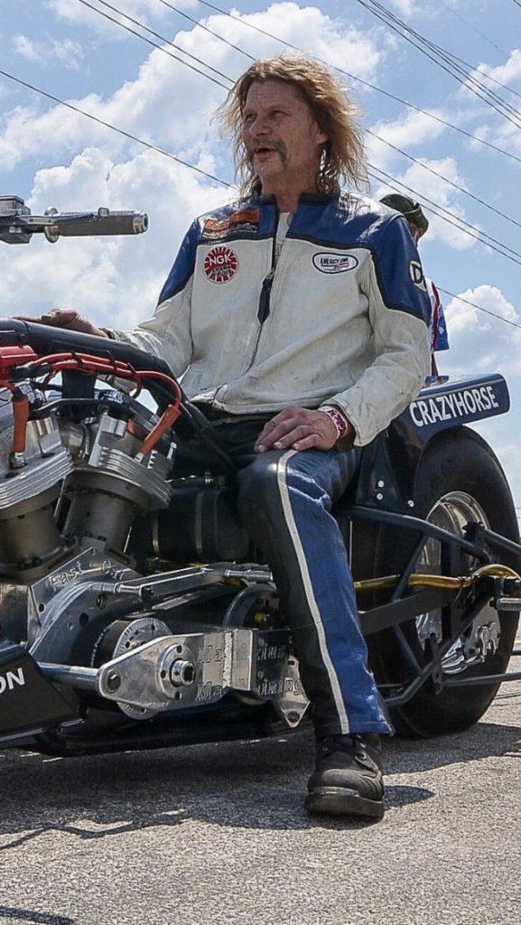 Russ Hendron. Photo courtesy AHRMA.